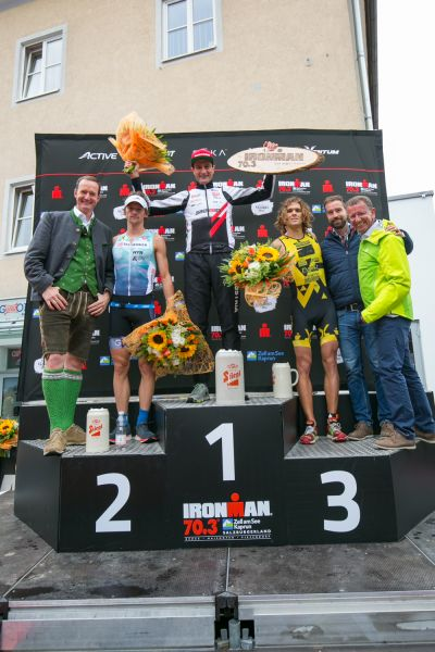 Am Podium Michael Weiss, Andreas Giglmayr