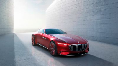 Ultimativer Luxus: Vision Mercedes-Maybach 6